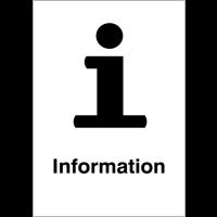 """Panneaux d'information du public """"Point information"""""""