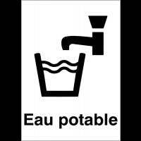 """Panneaux d'information du public """"Eau potable"""""""