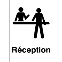 """Panneaux d'information du public """"Réception"""""""