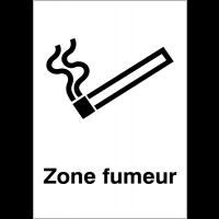 """Panneaux d'information du public """"Autorisation de fumer"""""""