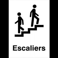 """Panneaux d'information du public """"Escalier"""""""