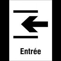 """Panneaux d'information du public """"Entrée"""""""