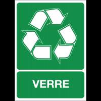 """Panneaux """"Tri sélectif des déchets - Verre"""""""