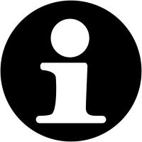 """Plaques signalétiques design """"Point information"""""""