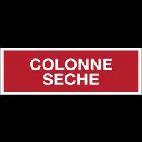 Panneaux de sécurité incendie avec texte - Colonne sèche