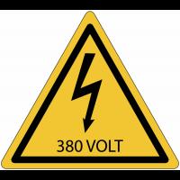Panneaux de danger électrique - 380 V