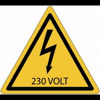 Panneaux de danger électrique - 230 V