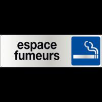 Signalétique de porte - Espace fumeurs