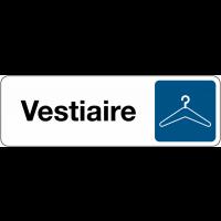 Signalétique de porte - Vestiaire