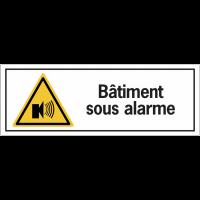Panneaux de dissuasion - Bâtiment sous alarme