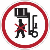 """Planches d'autocollants d'interdiction """"Ne pas stationner sous la charge"""""""