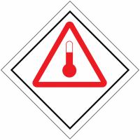 "Signalisation de transport international ""Produits chauds"""
