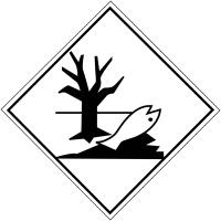 """Signalisation de transport international """"Dangereux pour l'environnement"""""""