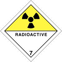 "Signalisation de transport international ""Matières radioactives"""