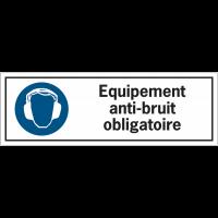 Etiquettes de sécurité - Equipement anti-bruit obligatoire