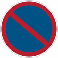 """Panneaux d'interdiction """"Stationnement interdit"""""""