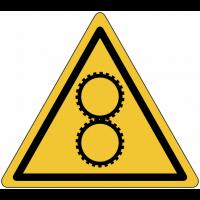 """Panneaux de danger """"Engrenage"""""""