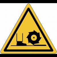 """Panneaux de danger """"Broche de fraisage"""""""