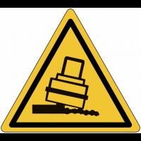 """Panneaux de danger """"Risque de basculement"""""""