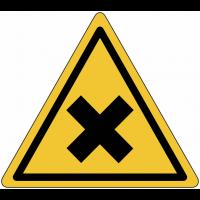 """Panneaux de danger """"Matières nocives ou irritantes"""""""