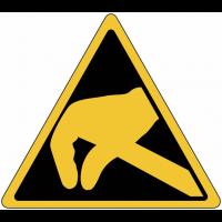 """Panneaux de danger """"Electrostatique"""""""