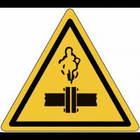 """Panneaux de danger """"Vapeurs chaudes"""""""