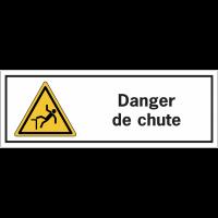 Panneaux de danger rectangulaires - Danger de chute