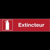 Panneaux de sécurité et incendie rectangulaire - Extincteur