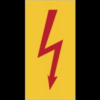"""Panneaux flèches """"Danger électricité"""""""