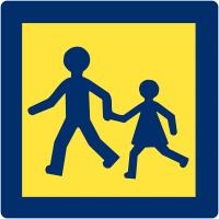 """Panneaux de """"Transport d'enfants"""" pour véhicules"""