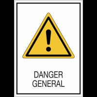 Panneaux de signalisation de sécurité standards - Danger général