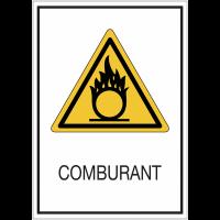 Panneaux de signalisation de sécurité standards - Comburant