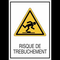 Panneaux de signalisation de sécurité standards - Risque de trébuchement