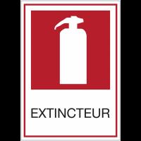 Panneaux de signalisation de sécurité standards - Extincteur
