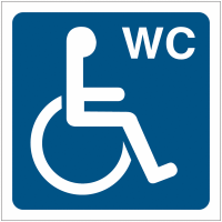 """Pictogrammes de signalisation """"Toilettes handicapés"""""""