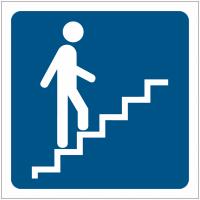 """Pictogrammes de signalisation """"Escalier"""""""