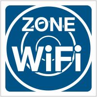 "Pictogrammes de signalisation ""Zone wifi"""