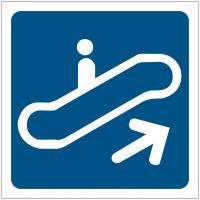 "Pictogrammes de signalisation ""Escalator"""