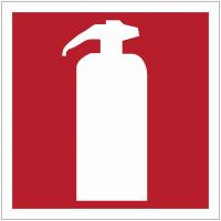 """Mini autocollants d'incendie """"Extincteur d'incendie"""""""