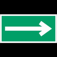 """Mini autocollants d'évacuation """"Flèche directionnelle 90°"""""""