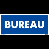 Panneau de signalisation en PVC - Bureau