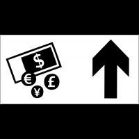 Panneau d'information Change - Flèche directionnelle