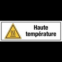 Panneau PVC adhésif - Haute température