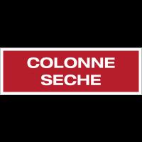 Panneau PVC adhésif - Colonne sèche