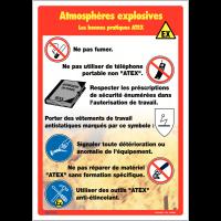 Affiche - Atmosphères explosives les bonnes pratiques ATEX