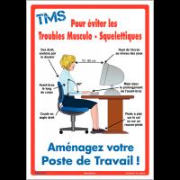 Affiche sur les Troubles Musculo-Squelettiques