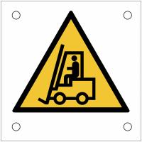 """Plaques de signalisation pour machines """"Danger, chariots élévateurs"""""""