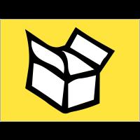 """Autocollant """"Tri sélectif des déchets"""" pour emballage"""