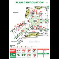 Plan d'évacuation personnalisable