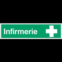 "Autocollant ""Infirmerie"""